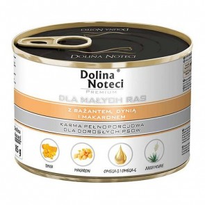 DOLINA NOTECI Premium dla małych ras – z bażantem, dynią i makaronem