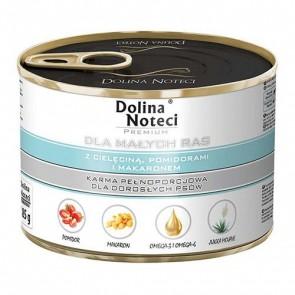 DOLINA NOTECI Premium dla małych ras – z cielęciną, pomidorami i makaronem