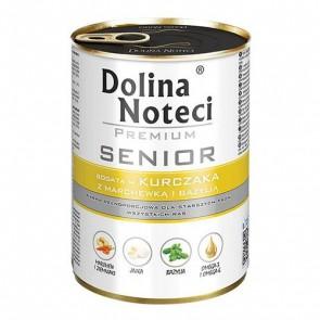 DOLINA NOTECI Premium Senior – bogata w kurczaka z marchewką i bazylią
