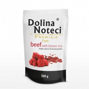 DOLINA NOTECI Premium Pure – wołowina z ryżem brązowym