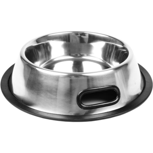 CHICO miska metalowa na gumie z uchwytami