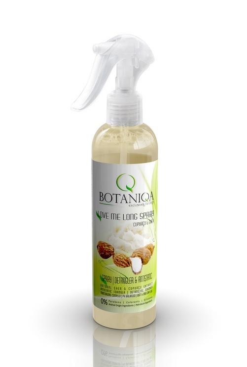 BOTANIQA Love Me Long Spray – antystatyczny spray ułatwiający rozczesywanie