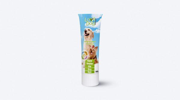 Lovi Dog pasztet dla psa z gęsią – tuba 90 g
