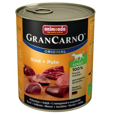 Animonda Grancarno Adult Wołowina z Indykiem