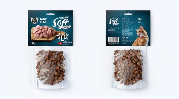 JANE CAT – Chapsy z kurczaka szwajcarskiego – 70% mięsa