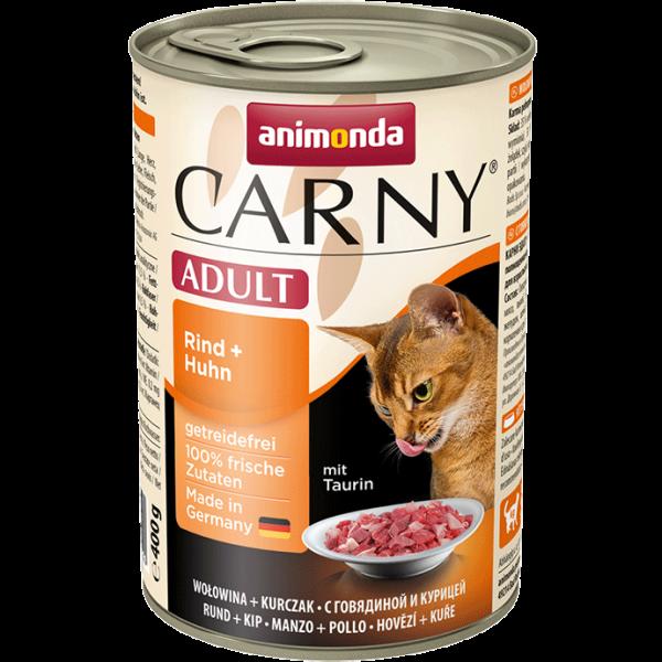 Animonda Carny Adult – Wołowina i Kurczak