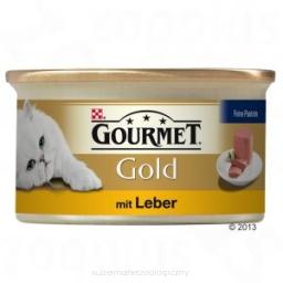 Gourmet Gold Mus z wątróbką