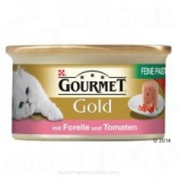 Gourmet Gold Mus Pstrąg z pomidorem 85g