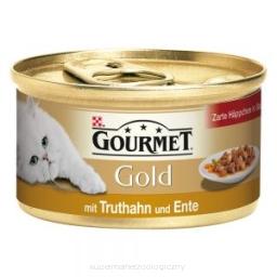 GOURMET GOLD Indyk z kaczką w sosie
