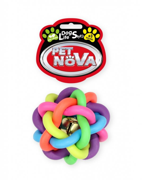 PET NOVA piłka pleciona 10,5 cm