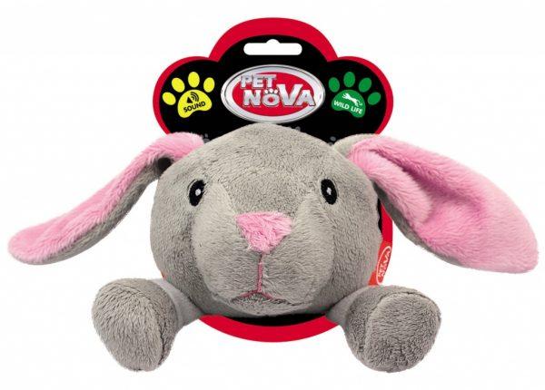 PET NOVA królik pluszowy 12,5 cm