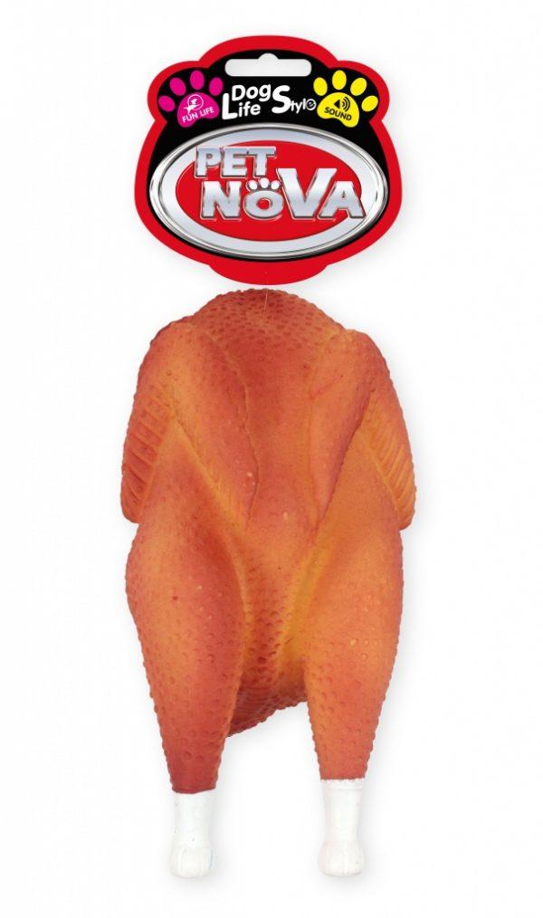 PET NOVA kurczak z rożna 19cm