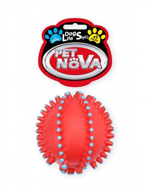 PET NOVA najeżona piłka – czerwona
