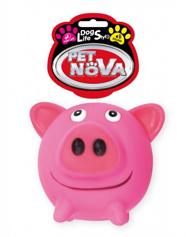 PET NOVA świnka gumowa