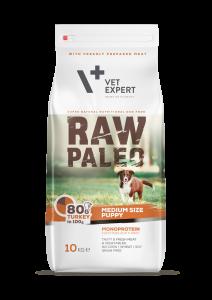 RAW PALEO puppy medium – dla szczeniąt ras średnich