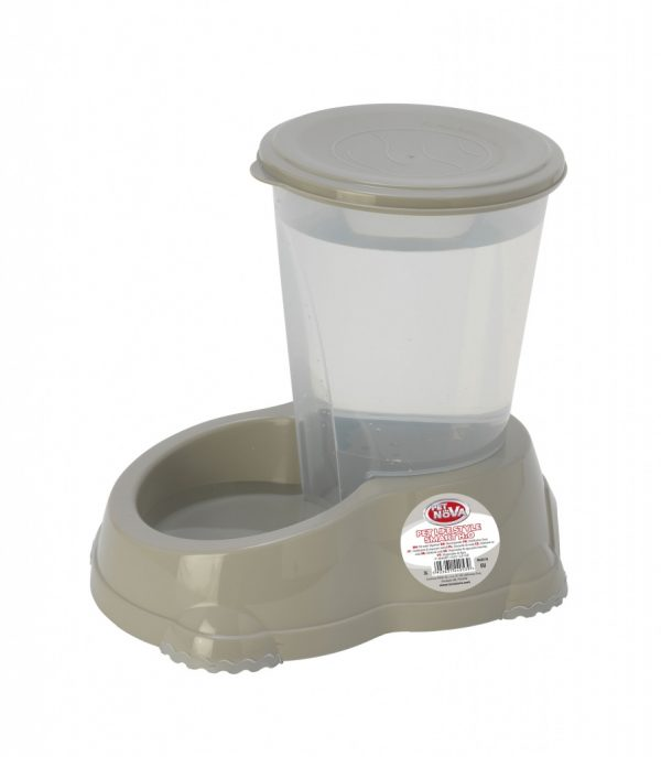 PET NOVA dozownik do wody 3,0 L – szary
