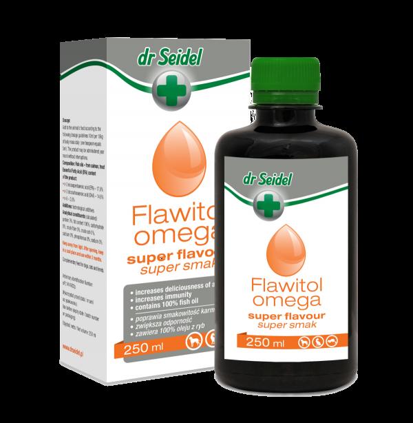 DR SEIDEL Flawitol Omega super smak – poprawia smakowitość karmy